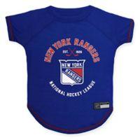 NHL New York Rangers Large Pet T-Shirt