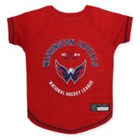 NHL Washington Capitals Large Pet T-Shirt