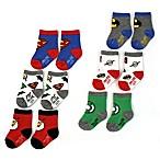 DC Comics™ Size 3-12M 6-Pack Justice League Socks