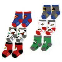 DC Comics™ Size 12-24M 6-Pack Justice League Socks