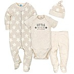 "Gerber® Size 6-9M ""Little Star"" 4-Piece Set in Oatmeal"