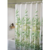 iDesign® Anzu 72-Inch x 72-Inch Shower Curtain in Green