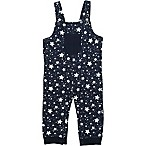 Coyote and Co. Size 3-6M Twinkling Star Overall in Navy