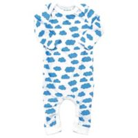 Coyote and Co. Newborn Cloud Romper in Blue
