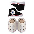 Converse Size 0-6M 2-Pack Chuck Booties in Black