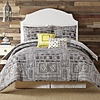 Indigo Bazaar Tranquility Queen Comforter Set in Grey
