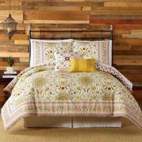 Indigo Bazaar Joanne King Comforter Set in Red
