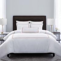 Wamsutta® MICRO COTTON® Triple Baratta Stitch Full/Queen Comforter Set in Blush