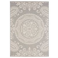 Balta Home Highlands Indoor/Outdoor 7'10 x 10' Area Rug in Grey
