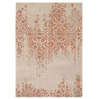 Balta Home Dayton 7'10 x 10' Area Rug in Orange/Cream