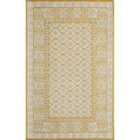 Momeni Newport Tufted 3'9 x 5'9 Area Rug in Gold