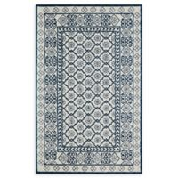 Momeni Newport Tufted 5' x 8' Area Rug in Blue