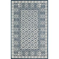 Momeni Newport Tufted 9' x 12' Area Rug in Blue