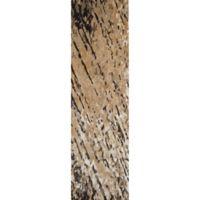 Momeni Zen Tufted 2'3 x 8' Area Rug in Brown