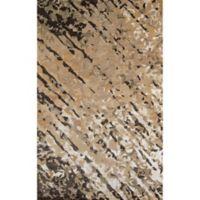 Momeni Zen Tufted 8' x 11' Area Rug in Brown