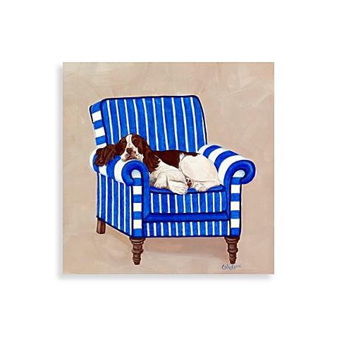 springer on blue wall art bed bath beyond. Black Bedroom Furniture Sets. Home Design Ideas