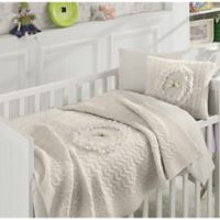 Nipperland® Floral 6-Piece Crib Bedding Set in Beige