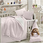 Nipperland® Natural 6-Piece Crib Bedding Set in Pink