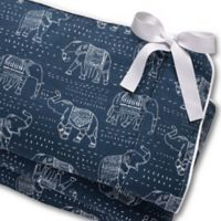 Liz and Roo Elephant Long Rail Guard in Navy