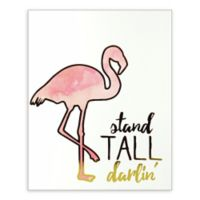Linden Ave 8-Inch x 10-Inch Stand Tall Darlin' Boxed Plaque Artwork