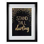 York Wallcoverings Stand Tall 11-Inch x 14-Inch Framed Wall Art