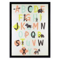 Linden Ave 12.5-Inch Square Alphabet Framed Artwork