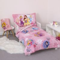 Disney® Princess 4-Piece Toddler Bedding Set