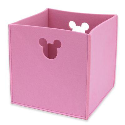 Disney® Minnie Mouse Storage Bin In Pink