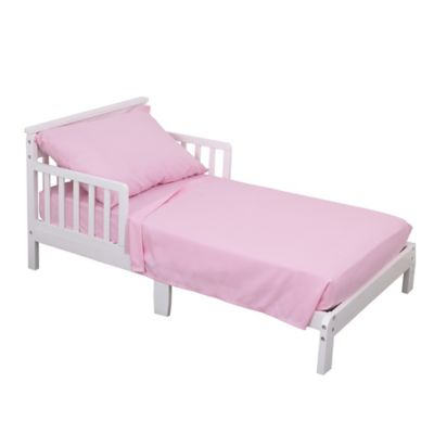 NoJo® 3 Piece Toddler Bed Sheet Set In Pink