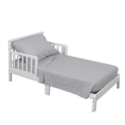 NoJo® 3 Piece Toddler Bed Sheet Set In Grey