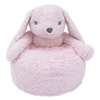 Cuddle Me Plush Bunny Chair in Pink  sc 1 st  Bed Bath u0026 Beyond & Buy Plush Animal Chairs from Bed Bath u0026 Beyond