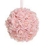Glenna Jean Remember My Love 8-Inch Rose Ball in Ballet Pink