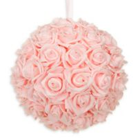 Glenna Jean Remember My Love 10-Inch Rose Ball in Ballet Pink