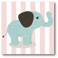Courtside Market Baby Animals I 12-Inch Square Canvas Wall Art