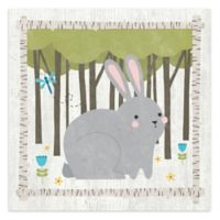 Courtside Market Woodland Hide Away Buddy 16-Inch Square Canvas Wall Art