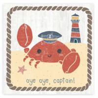 Courtside Market Nautical Friends II 16-Inch Square Canvas Wall Art