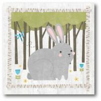 Courtside Market Woodland Hideaway Buddy 12-Inch Square Canvas Wall Art