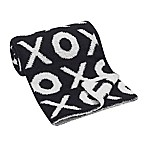 Lambs & Ivy® XOXO Chenille Blanket in Black