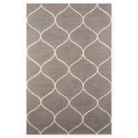 Momeni Newport Trellis 8' x 10' Area Rug in Grey