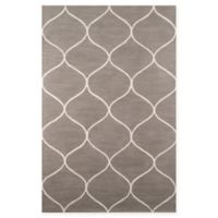 Momeni Newport Trellis 9' x 12' Area Rug in Grey