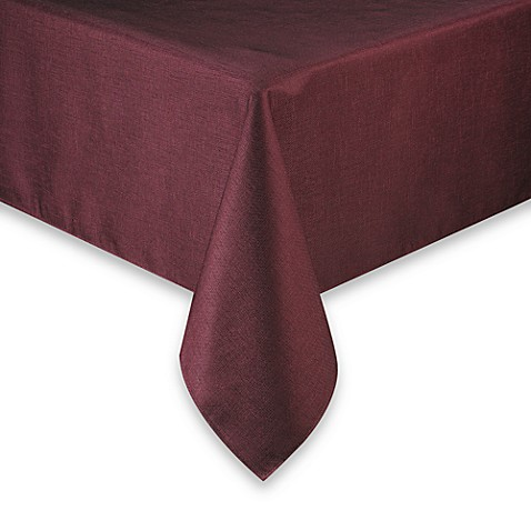 Basketweave 52 x 52 tablecloth bed bath beyond for Tablecloth 52 x 120