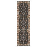 Momeni Tudor Tufted 2'3 x 8' Accent Rug in Grey