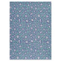 Momeni Heavenly 3' x 5' Area Rug in Blue