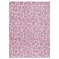 Momeni Heavenly 5' x 7' Area Rug in Pink