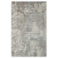 Momeni Illusions Scroll 5' x 7'6 Area Rug in Beige