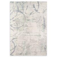 Momeni Illusions Scroll 8' x 11' Area Rug in Grey