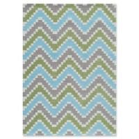 Momeni Heavenly Chevron Multicolor 2' x 3' Accent Rug