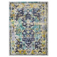Surya Silk Road Vintage-Inspired 5'3 x 7'3 Area Rug in Dark Green