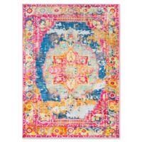 Surya Silk Road Vintage-Inspired 5'3 x 7'3 Area Rug in Pink