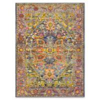 Surya Silk Road Vintage-Inspired 7'10 x 10'3 Area Rug in Lime